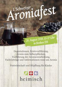 Flyer Aroniafest